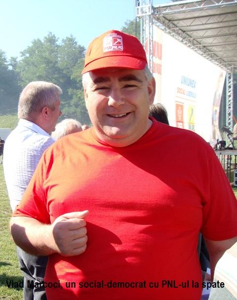 Vlad Marcoci, un social-democrat cu PNL-ul la spate