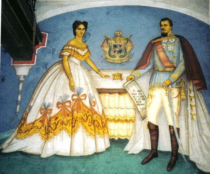 Elena-Cuza-si-Alexandru-Ioan-Cuza-in-Biserica-din-Ruginoasa.jpg