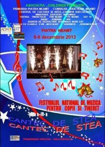 Festivalul Cantec de stea: Un festival national în afișe, internațional în deconturi