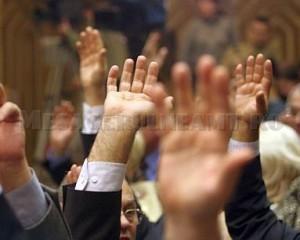5158-Senatori - maini ridicate