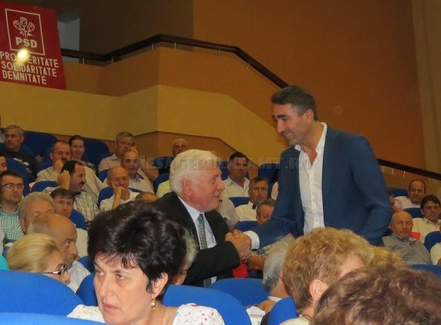 """Constantin Mătase, primar la Grumăzești, către Ionel Arsene, președinte PSD: """"Ca la noi, la Grumăzești, așa să fii votat."""""""