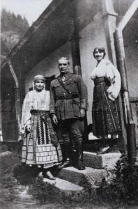 Reina Maria la Bicaz - 1918