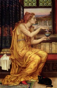 Evelyn de Morgan - The love potion (1903)