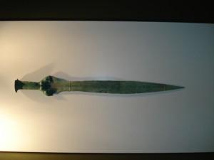 sabia din Epoca Bronzului