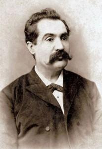 Jean Bielig - Portretul lui Mihai Eminescu, 1887-1888