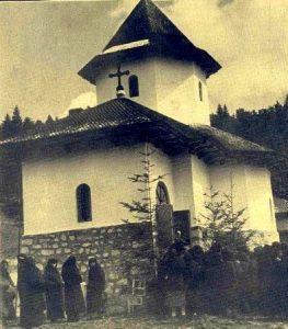 Biserica Agapia din deal în anul 1938