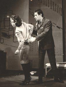Leopoldina Balanuta si Victor Rebengiuc in Doi pe un balansoar - 1982