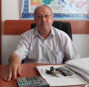 Mihai Michiu, primarul comunei Dulcesti