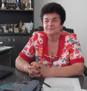 Valeria Dascalu, primarul comunei Sabaoani