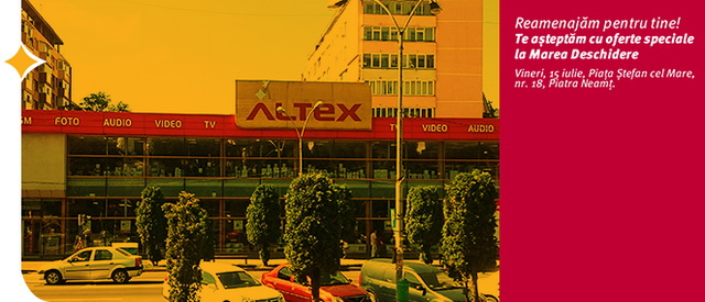 altex redecorare afis