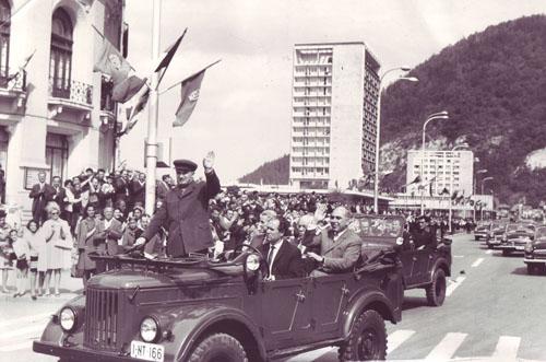1970 - Vizita in jud. Neamt