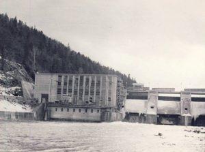 Hidrocentrala de la Pangarati - judetul Neamt
