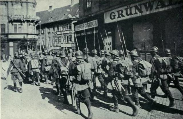 trupe romane budapesta 1919