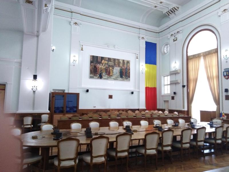 Sala sedinte CL Oradea