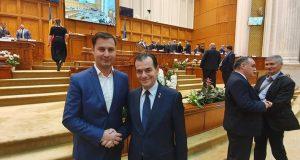 Alături de prim ministru Ludovic Orban