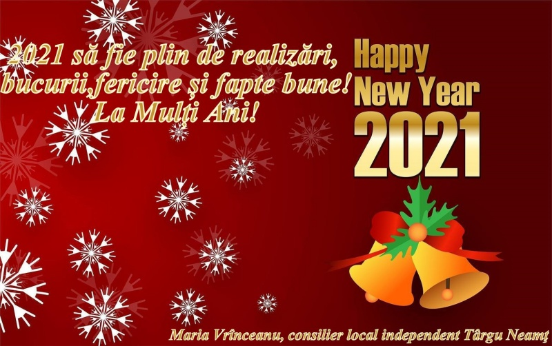 happy-new-year-2021-design-with-snowflakes-free-vector
